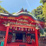 (祈り)光の柱がたつ! 江の島 江島神社 神奈川