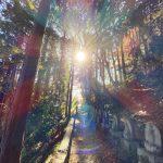 【祈り】天からの道 天への道 扉のある場所 すべては大宇宙のストーリー   閼伽井嶽薬師 常福寺・福島県
